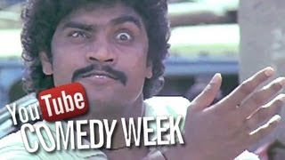 Best Bollywood Comedy Scenes of Johny Lever, Chunky Pandey - Hindi Movie Tezaab