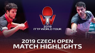 Дмитрий Овчаров vs Patrick Franziska | Czech Open 2019 (1/4)
