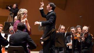 Nielsen: Flute concerto - Antonio Méndez - Claudia Walker - Sinfónica de Galicia