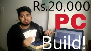 Rs.20,000(20k) Gaming PC Build with Gameplay performance - TheBrironTech
