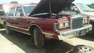 Что я увидел в старом Lincoln/авто свалка/умирающая RX8/junk yard