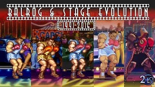 Street Fighter - Balrog All Console High Roller Casino Stage Evolution/History (1991-2016)