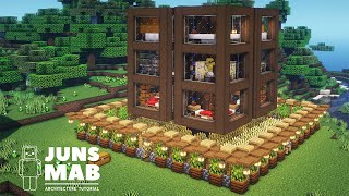 Minecraft : Gravity House Tutorial |How to Build a Wooden house in Minecraft (#138)