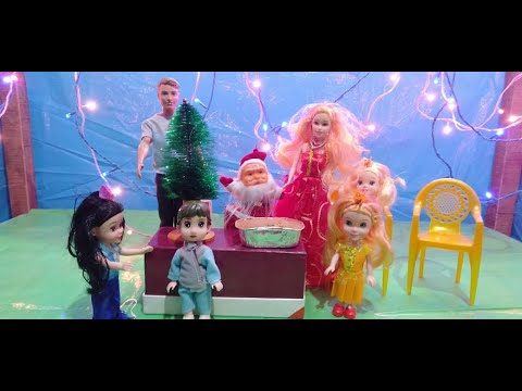 Christmas Party Barbiedoll Kahini For Kids Putulerlifestyle