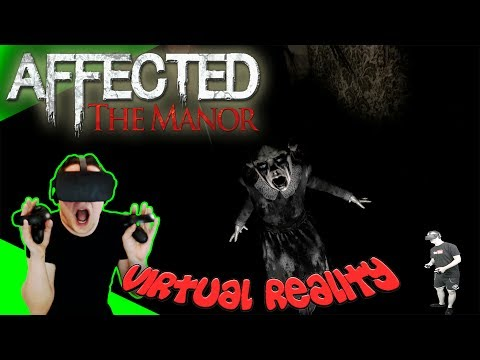 AFFECTED: The Manor - Fieser Horror-Trip [Let's Play][Gameplay][German][Rift][Virtual Reality]
