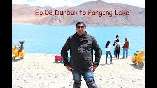 Durbuk to Pangong Lake (Changla) Episode#08 Trip to Leh Ladakh