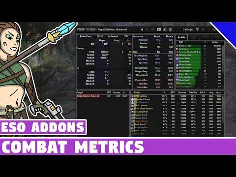 Combat Metrics - Combat Log Info   ESO Addon Spotlight   Elder Scrolls Online Best Addons