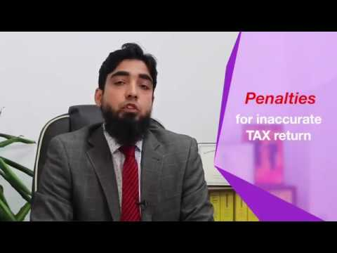 (clip-7) Amendment of tax returns and penalties for inaccurate tax returns