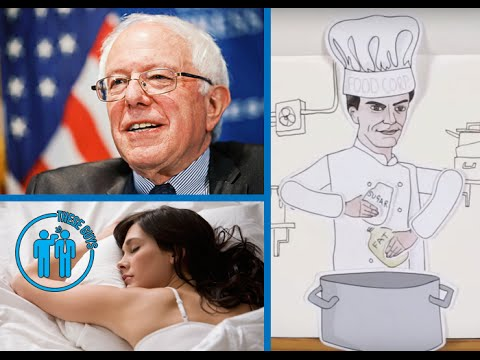 Bernie Sanders' BIG Reveal, Why We Need To Cook At Home & Can Science Record Our Dreams?