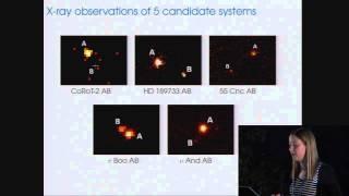 CoRoT3-KASC7 #48 - K. Poppenhaeger - Stellar magnetic activity: Star-Planet interactions