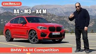 Probamos el BMW X4 M Competition, la versión más deportiva y potente de este modelo con un motor de seis cilindros y 510 CV y tracción a las cuatro ruedas.