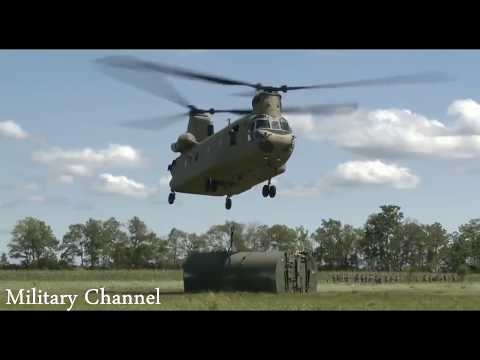 US Military Airlift and Airdrop Training Exercise