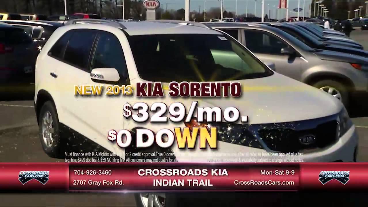 Crossroads Kia Indian Trail Soul Sorento 3 23 13 Youtube