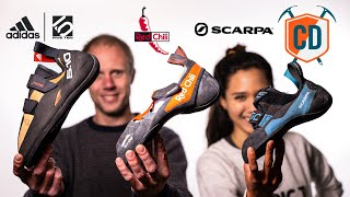 How To Size Cliṁbing Shoes: Five Ten, Red Chilli And Scarpa   Climbing Daily Ep.1829