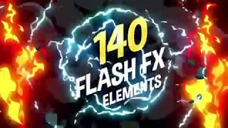 Скачать 140 Flash FX Elements 11266469