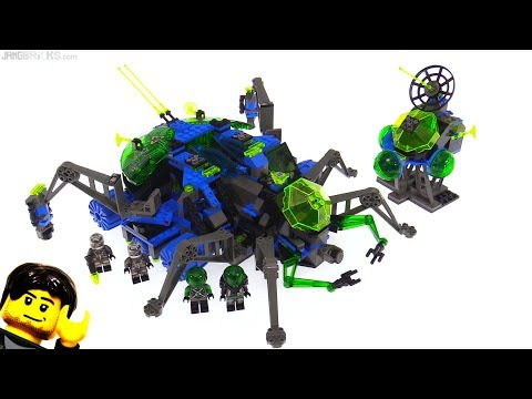 LEGO Insectoids Arachnoid Star Base from 1998! set 6977
