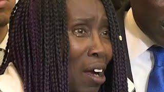 Stephon Clark's grandmother makes emotional speech
