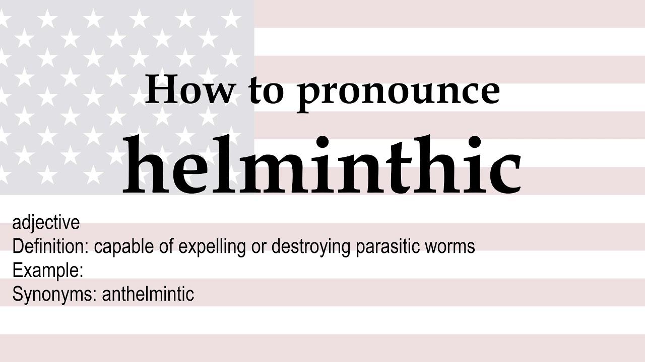 definiálja a helmintus kifejezést