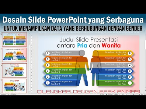 Cara Bikin Slide PowerPoint untuk Presentasi Data Gender