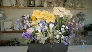 Artificial Spring Window Box Floristry Tutorial