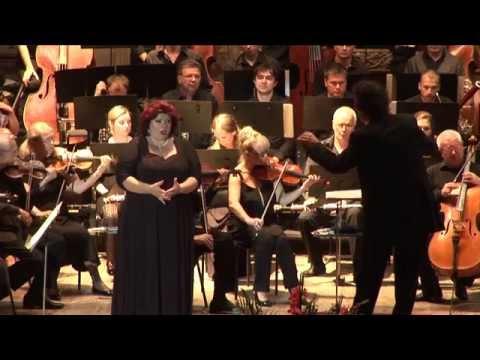 "Tatiana Melnychenko, soprano - ""Vieni, t'affretta"" ; ""Tu che le vanita"" ; ""Pace, pace"""