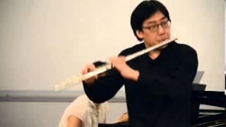 Hindemith - Flute Sonata (1936) Beomjae Kim, flute Kho Woon Kim, piano
