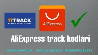 AliExpress - Track Nomerlari, Buyurtmani Kuzatish