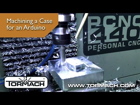 Making An Arduino Enclosure On The PCNC 440