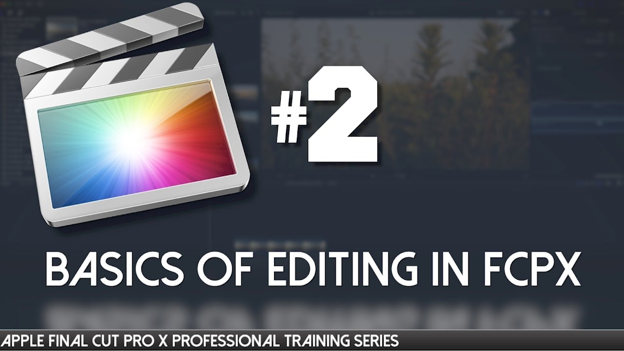 apple pro training series final cut pro 7