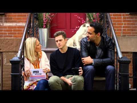 Talk Stoop Featuring Graceland stars, Daniel Sunjata & Aaron Tveit