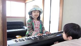 ピアノの練習 Piano lesson