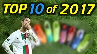 Top 10 Soccer Cleats/Football Boots of 2017 So Far