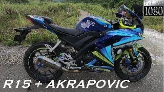 Knalpot Akrapovic Impor R15 V3 (Akrapovic Import Exhaust On R15 V3)