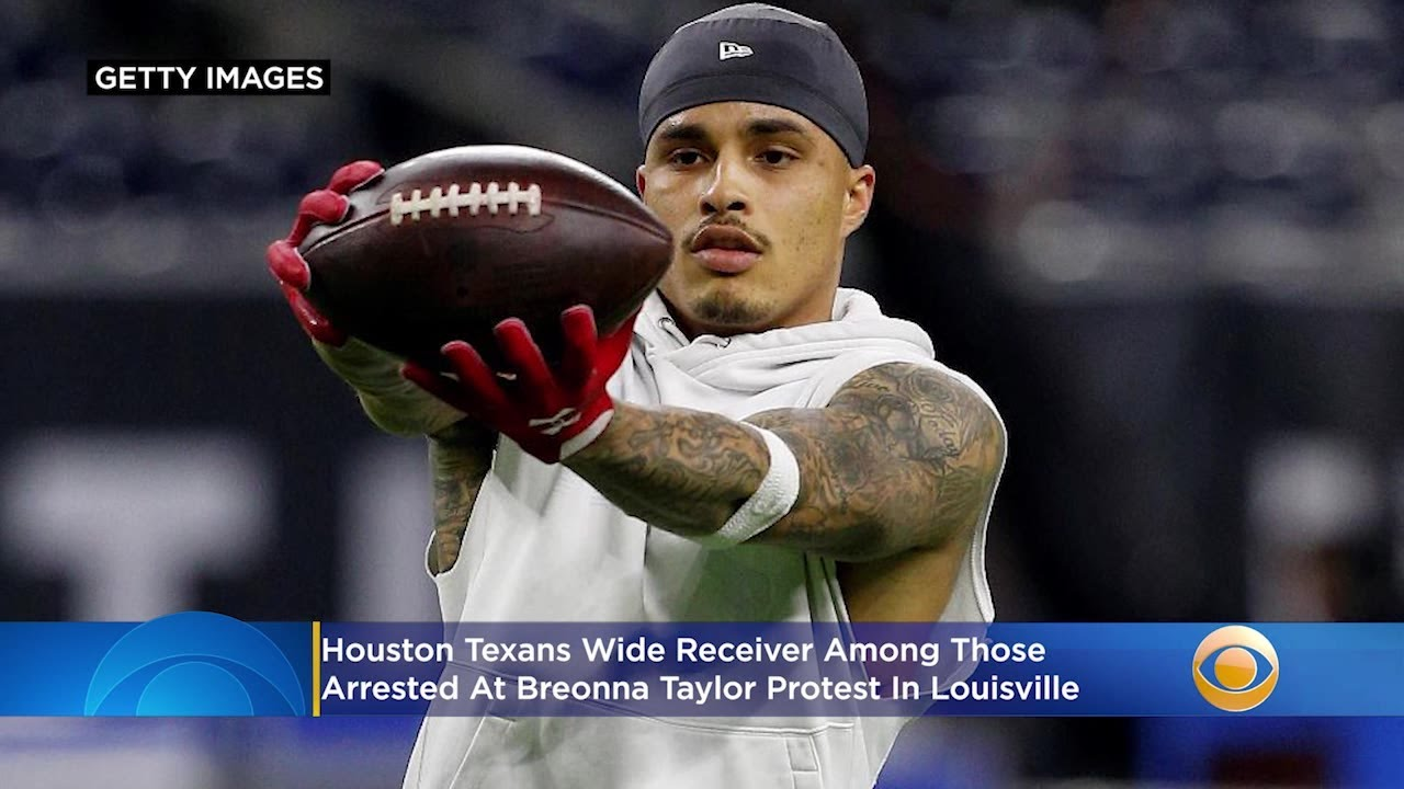 Texans wide receiver, Kenny Stills, arrested at Breonna Taylor protest