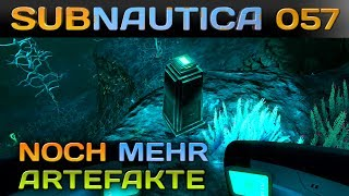 🌊 SUBNAUTICA [057] [Noch mehr Alien Artefakte] Let's Play Gameplay Deutsch German thumbnail