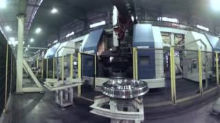 EVRAZ railway wheels manufacturing virtual tour