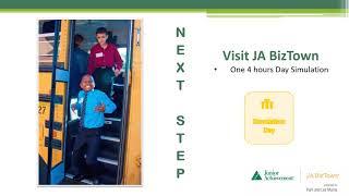 JA BizTown Online Teacher Training