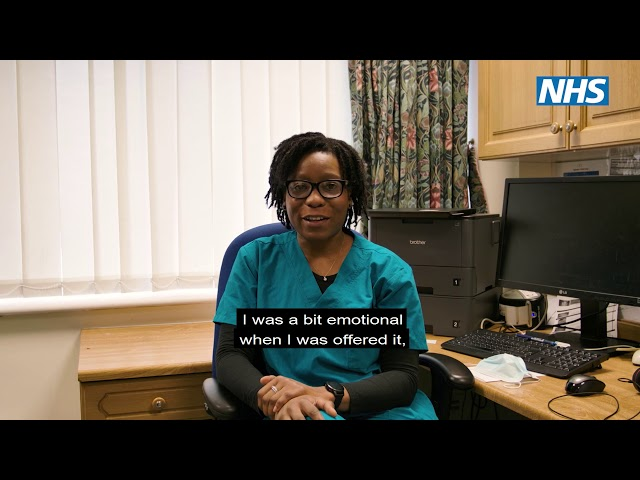 Dr Odetoyinbo shares her COVID-19 vaccination experience