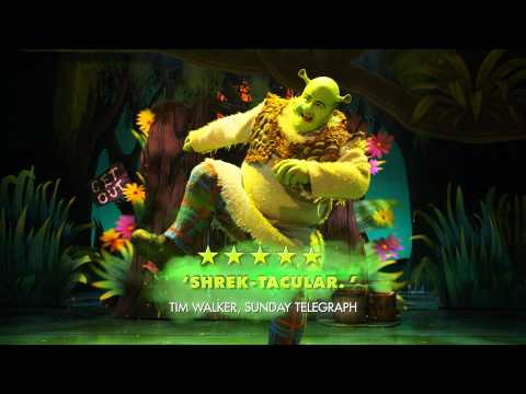 Shrek The Musical comes to the Bord Gáis Energy Theatre Oct 21 to Nov 7
