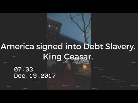 Congress votes more generations of Americans into Debt Slavery.