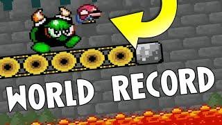 Super Mario World ROM Hack 'Invictus' any% speedrun in 29:59 (World Record)