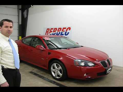 2008 pontiac grand prix gxp stock 55812 rebbec pontiac youtube. Black Bedroom Furniture Sets. Home Design Ideas