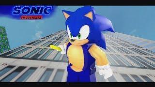 Sonic la Pelicula trailer Roblox Animación