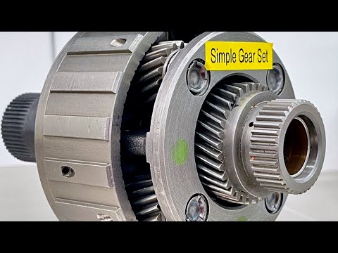 Planetary Gear Set Operation - Automatic Transmission