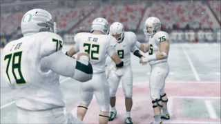 NCAA Football 14 - Stanford Cardinal vs. Oregon Ducks Gameplay [HD]