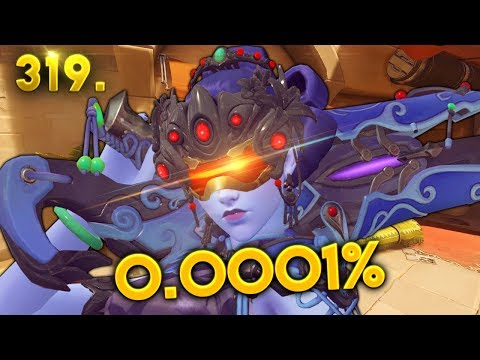0.0001% WIDOW SHOT..!! | Overwatch Daily Moments Ep. 319 (Funny and Random Moments)