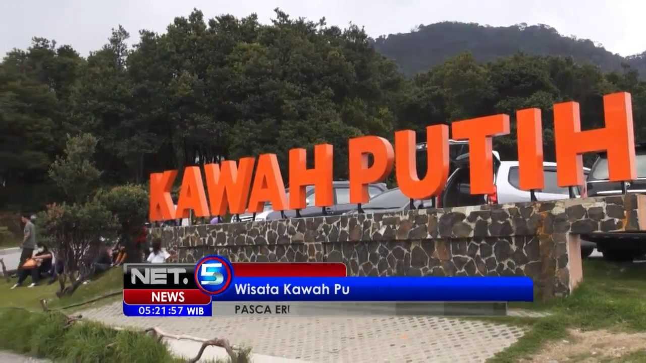 Net5 Wisata Kawah Putih Ciwidey Bandung Tetap Ramai