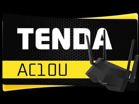 Как Настроить роутер Tenda AC10U - Обзор и Настройка WiFi Роутера Tenda AC10U (AC1200)