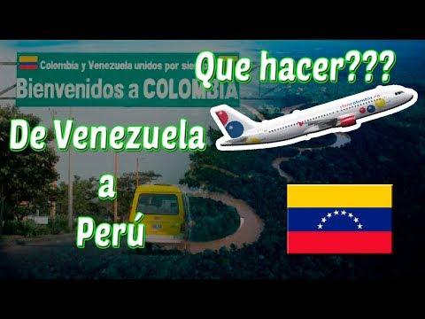 ¿Cómo viajar desde Venezuela a Perú? (por tierra y avión) - Venezolanos en Perú