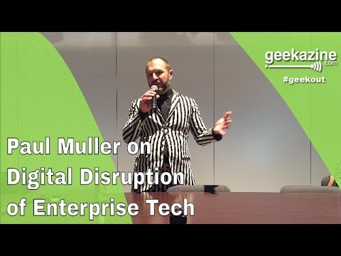 Paul Muller on Digital Disruption - HPE Discover Coffee Talk 360 Video
